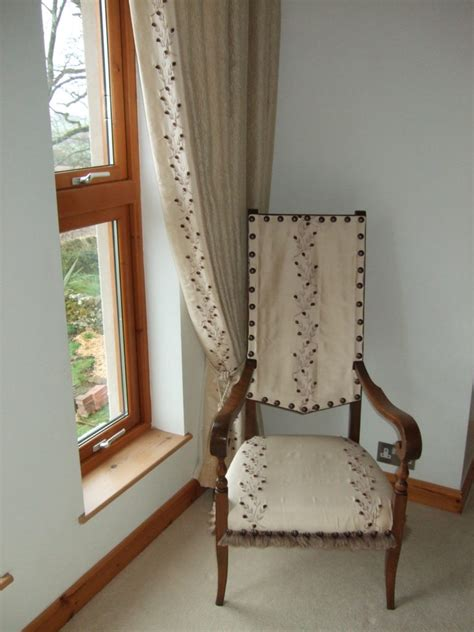 chair drapes we have curtains and a chair gina lillycrop designs