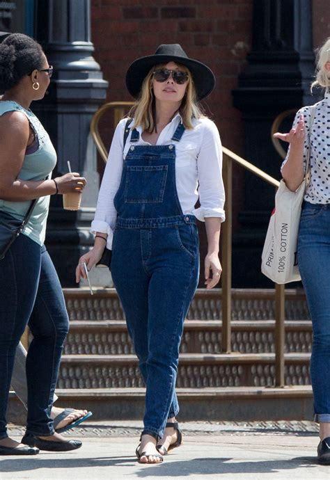 Olsens Are In Town by Elizabeth In Jumpsuit Out In New York City
