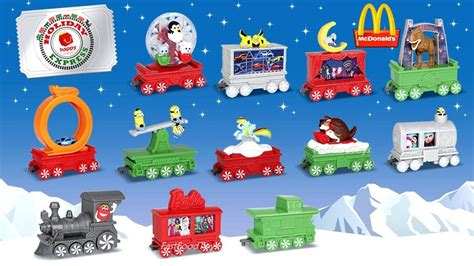 Holiday Toy Giveaway 2017 - 2017 next mcdonald s happy meal toys holiday express train christmas pokemon sun