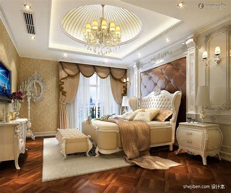 european style villa bedroom  modern ceiling ideas