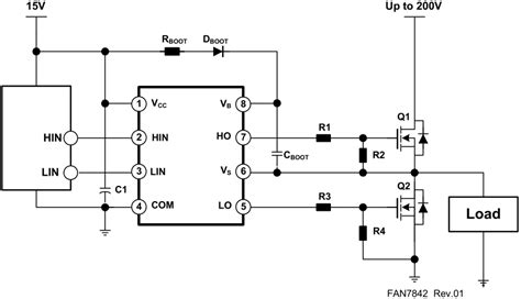 transistor fet driver circuit gate driving is it possible to use p mosfet at the floating high side of a mosfet driver