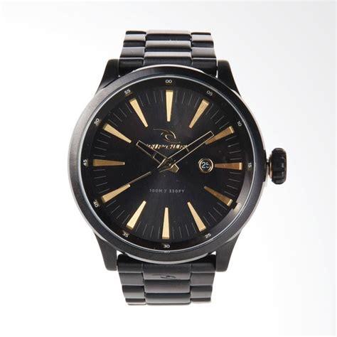 Jam Tangan Pria Ripcul Date On Stainlist Black jual rip curl recon xl sss midnight jam tangan pria