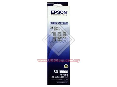 Printer Epson Original Lq300 Lq 300 Lq 300 Lq 300ii New epson ribbon cartridge s015506 7753 for epson lq 300 ii lq 200 lq300 lq400 lq450 lq500 lq510