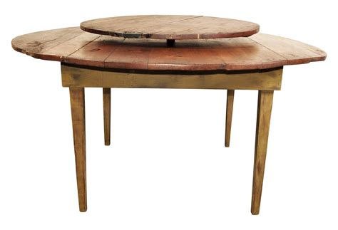 table with lazy susan rustic antique pine table with lazy susan center black