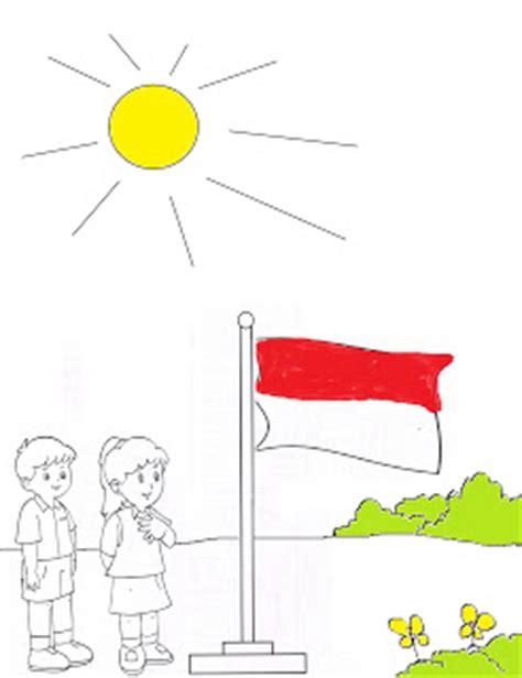 contoh gambar mewarnai untuk lomba sumpah pemuda dimensi pendidikan