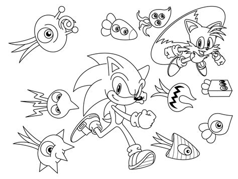 African Trees Drawings Coloring Pages Sonic Colors Coloring Pages