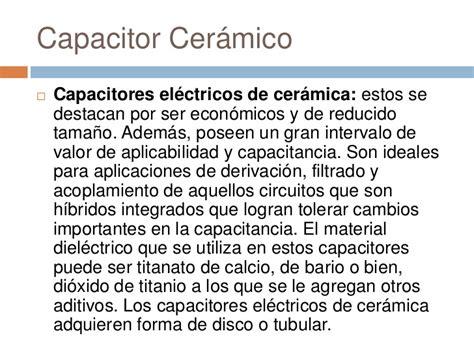 capacitor ceramico o que é capacitores
