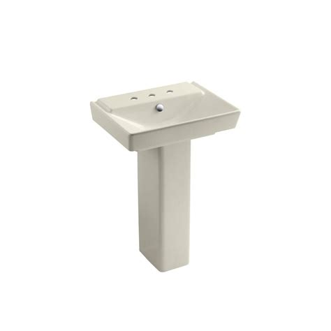 kohler memoirs ceramic pedestal combo bathroom sink in
