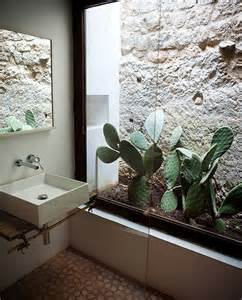 garden bathroom ideas indoor cactus bathroom ideas