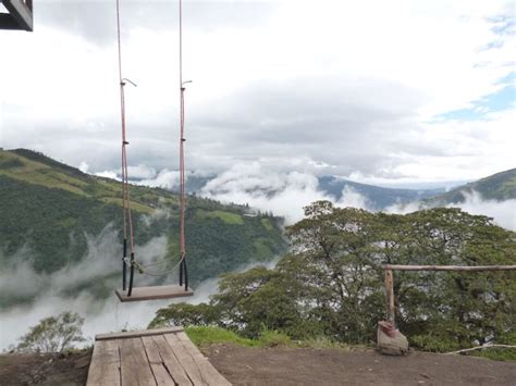 swing of death swing of death ecuador banos we are travellers