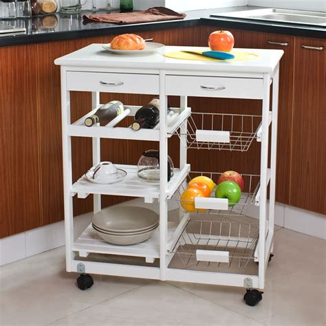 fruit and vegetable drawers traditional new york by sobuy 174 kitchen cart kitchen trolley with shelves