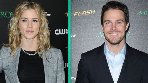 ion bett exclusive arrow stephen amell and emily bett