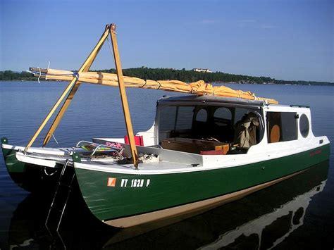 catamaran houseboat for sale small houseboats catamaran kits crab claw cat sailboat