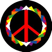 Origami Peace Sign - all peace signs
