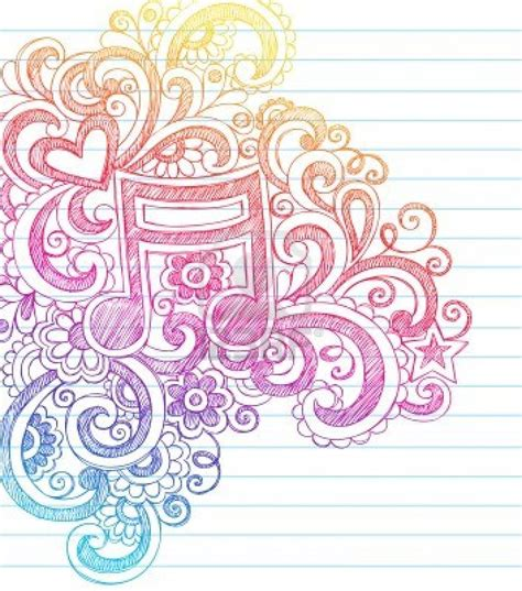 doodle paper note sketchy back to school doodles with swirls