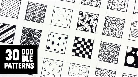 doodle fill free 30 patterns for doodling filling gaps