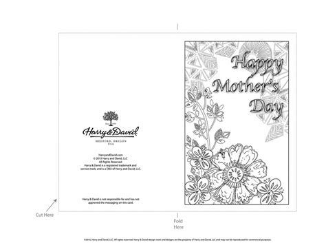 printable mothers day cards for to make printable s day cards