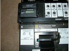 Square d lx 250 amp LX36250G w lsig trip Lsig