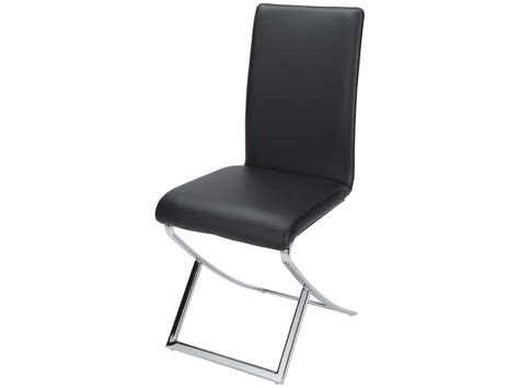 chaise noir conforama chaise william coloris noir chez conforama