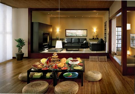 asian decorations for home interior designs simple japanese living room style