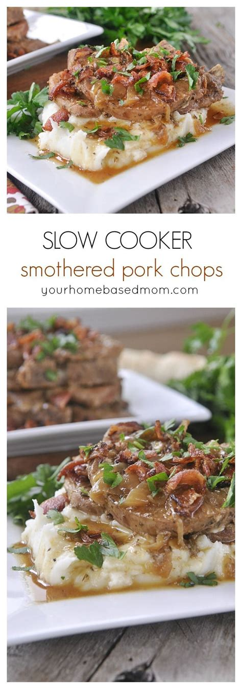 make delicious and tender pork chops in your slow cooker most popular pins