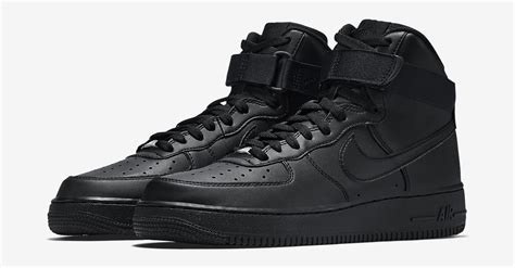 Jual Nike Air 1 Black nike air 1 high black all black running