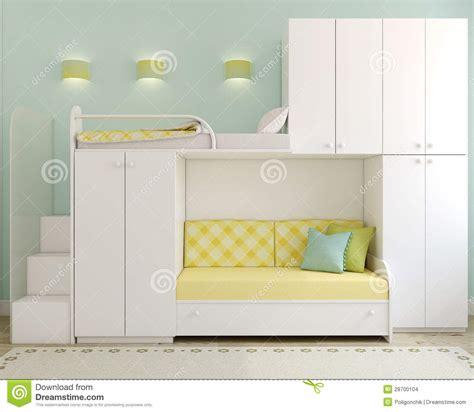 chambre a coucher des enfants la chambre 224 coucher des enfants images stock image