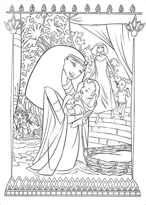 coloring pages moses killing egyptian 22 best kristendom images on pinterest coloring sheets