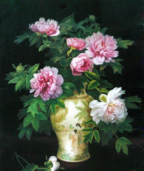 Beautiful Vase Of Flowers by 7 Beautiful Flower Vase Paintings Image