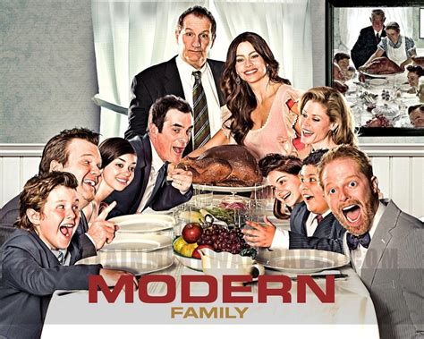 The Thanksgiving House Cast by Modern Family The American Sitcom Half An Hour Well Spent