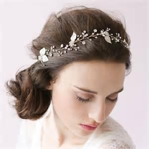 bridal hair accessories silver leaf wedding hair accessories wa o012 forbridals forbridals