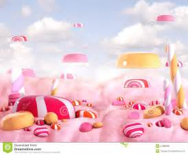 candy land bonbons stock illustration image of dream