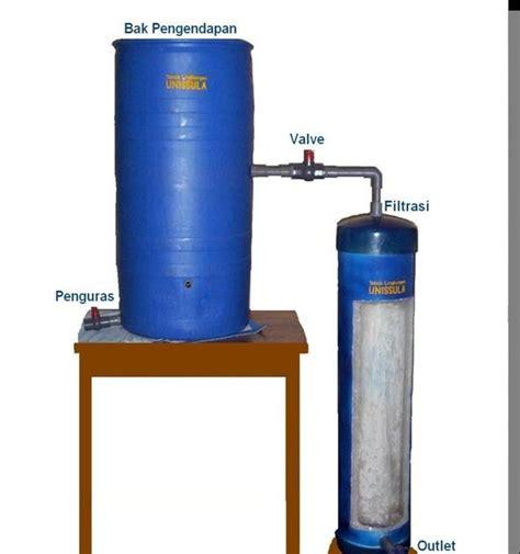 membuat filter air tradisional iptekguna timur indonesia alat penjernih air tradisional