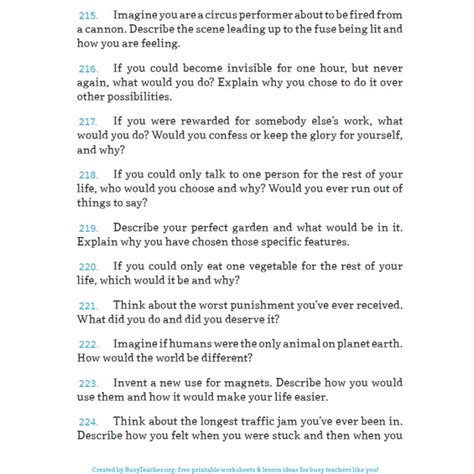 Creative Writing Essay Topics by Creative Writing Prompts 300 Creative Writing Prompts Writing Prompts Creative