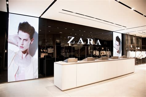 layout of zara zara new york vmsd
