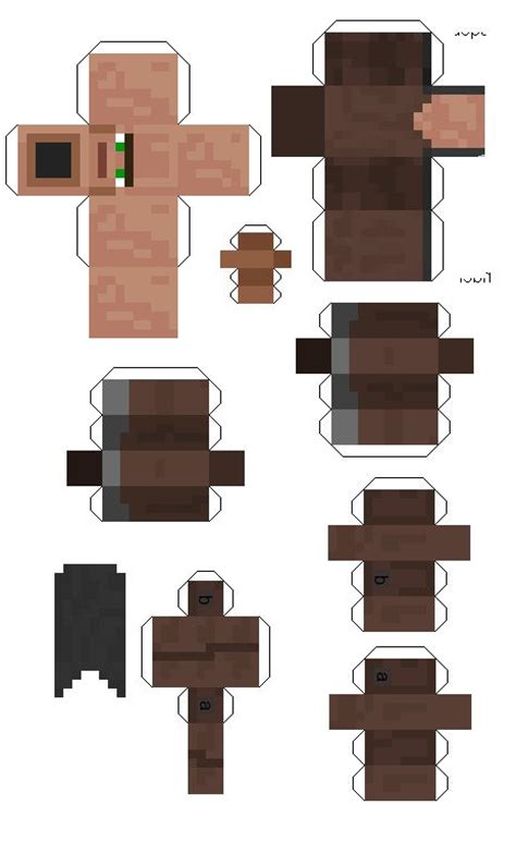 Minecraft Papercraft Cutouts - minecraft papercraft cut outs minecraft