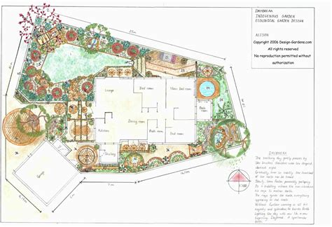 landscaping plans for backyard free garden design plans for your garden