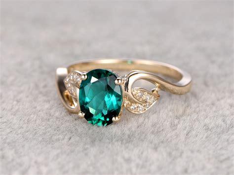 1 2 carat emerald engagement ring vintage promise