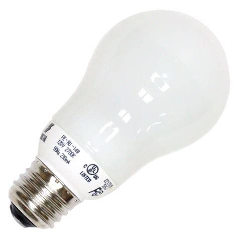 Longstar Compact Fluorescent L by Longstar 00283 Fe Gu 14w 27k Pear A Line Base
