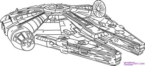 star wars millennium falcon coloring page star wars coloring pages millenium falcon cartoon