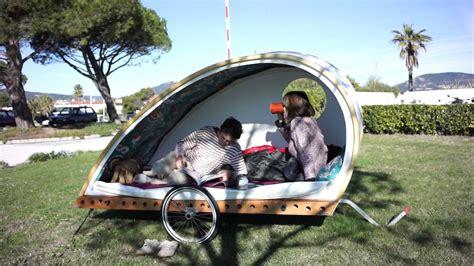 Tiny A Frame House Plans foldavan lightweight folding bicycle caravan youtube