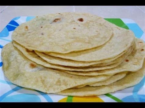 imagenes de unas tortillas receta como hacer tortillas de harina youtube
