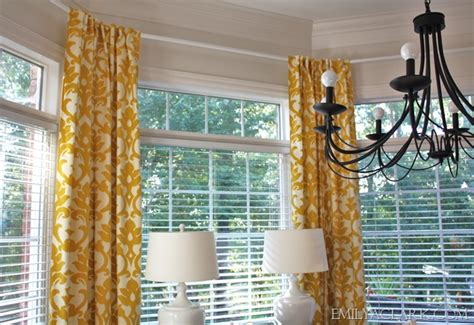 hanging curtains in a bay window redirecting