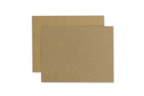Brown Cardboard Business Cards