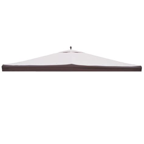 Garden Treasures Replacement Canopy by Shop Garden Treasures Brown Polyester Replacement Canopy Top For 10 Ft X 12 Ft Metal Gazebo At