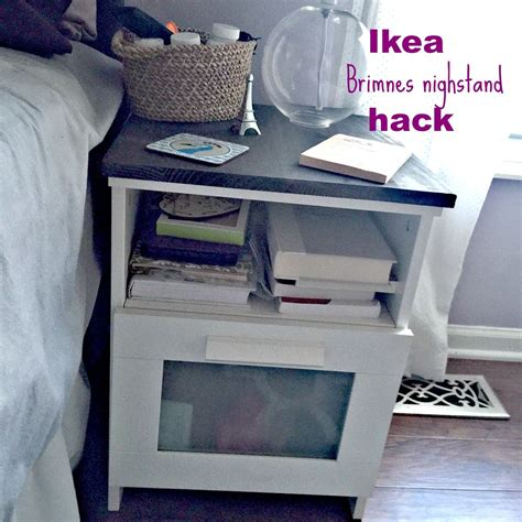 ikea brimnes hack ikea brimnes nightstand hack an easy diy to dress up the