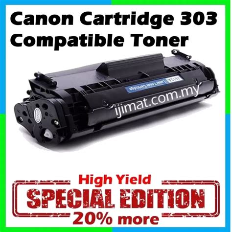 Toner Catridge Compatible Canon Lbp3000 Lbp 3000 Printer Laserjet 1 canon 303 canon cartridge 303 high quality compatible