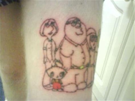 family guy tattoo picture collection family tattoos
