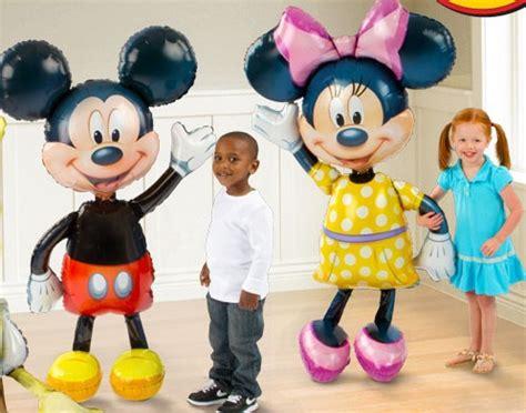 Boneka Micky Mini Jumbo 52 minnie mouse airwalker jumbo foil balloon mickey mouse airwalker mylar balloon minnie mouse