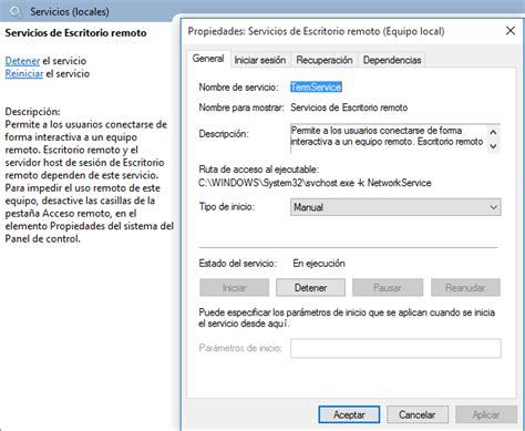 puerto escritorio remoto zona system cambiar puerto de conexi 243 n de escritorio